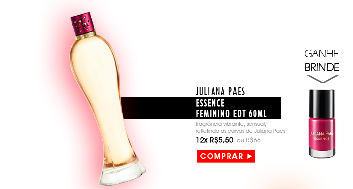 Perfume Juliana Paes Essence Feminino EDT 60ml Cod.[65067859]