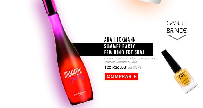 Perfume Ana Hickmann Summer Party Feminino EDT 50ml Cod.[1893]