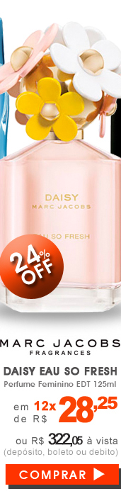 Perfume Daisy Eau So Fresh Feminino EDT 125ml
