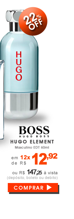 Perfume Hugo Element Masculino EDT 60ml