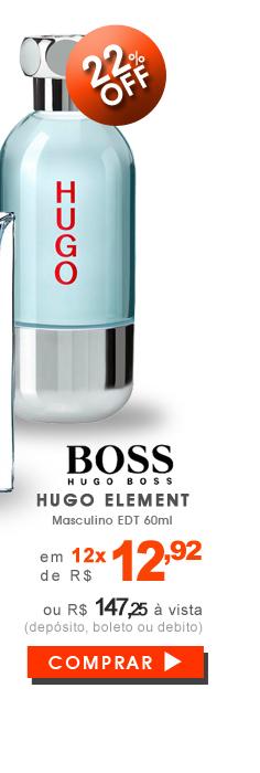 Perfume Hugo Element Masculino EDT 60ml