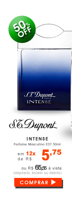 Perfume S.T. Dupont Intense Masculino EDT 50ml
