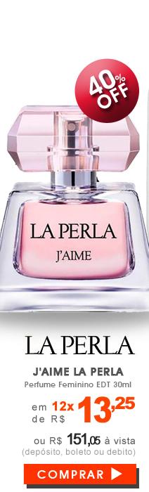 Perfume J'aime La Perla Feminino EDP 30ml