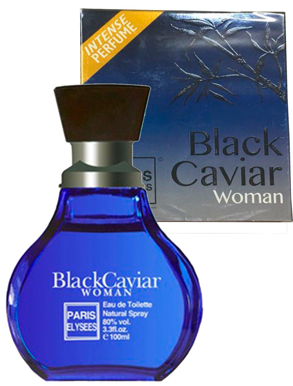 a63792e0f Perfume Black Caviar Feminino Paris Elysées na Ma Cherie Perfumaria