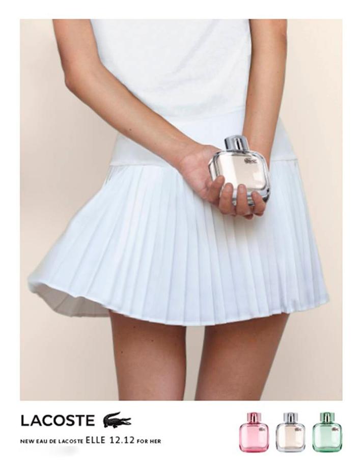 c6c4e000af5f9 Perfume Eau de Lacoste L.12.12 Pour Elle Elegant Feminino Lacoste na ...