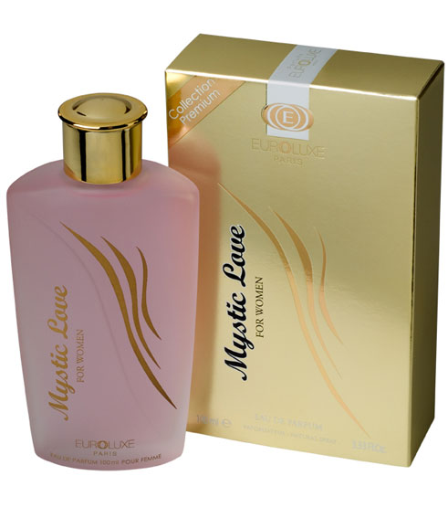 Jaguar Perfume Made In France: Perfume Mystic Love Feminino Euroluxe Na Ma Cherie Perfumaria
