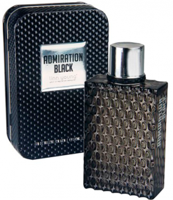 Perfume Admiration Black Masculino Eau de Toilette 100ml