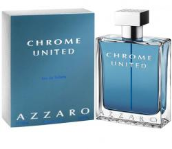 Perfume Chrome United Masculino Eau de Toilette 50ml