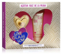 Coffret Love Glam Love Feminino EDT 80ml +Body Lotion 100ml