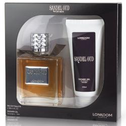 Coffret Sandel Oud Masculino EDT 100ml + Shower Gel 100ml