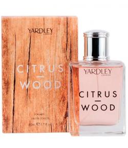 Perfume Citrus Wood For Men Yardle Masculino Eau de Toilette 50ml