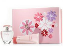 Coffret Pretty Feminino EDP 50ml + Body Lotion 100ml + Chaveiro