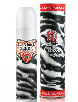 Perfume Cuba Jungle Strass Zebra Women Feminino Eau de Parfum 100ml
