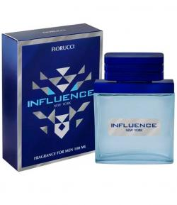 Perfume Influence New York Fiorucci Masculino Deo Colônia 100ml