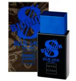 Perfume Billion Blue Jack Masculino Eau de Toilette 100ml