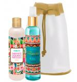 Kit Fiorucci Splash Fragrance Boho Style Kit Deo Colônia 200ml + Sabonete Líquido 200ml