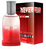 Perfume Never Fear Masculino Eau de Toilette 100ml + Perfume Maximus Fiorucc 10ml